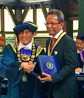 ITB Beri Penghargaan Kepada Ir. Sobri Syawie, MM